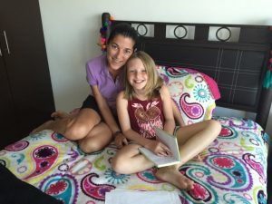 Me and my singing teacher, Ericka